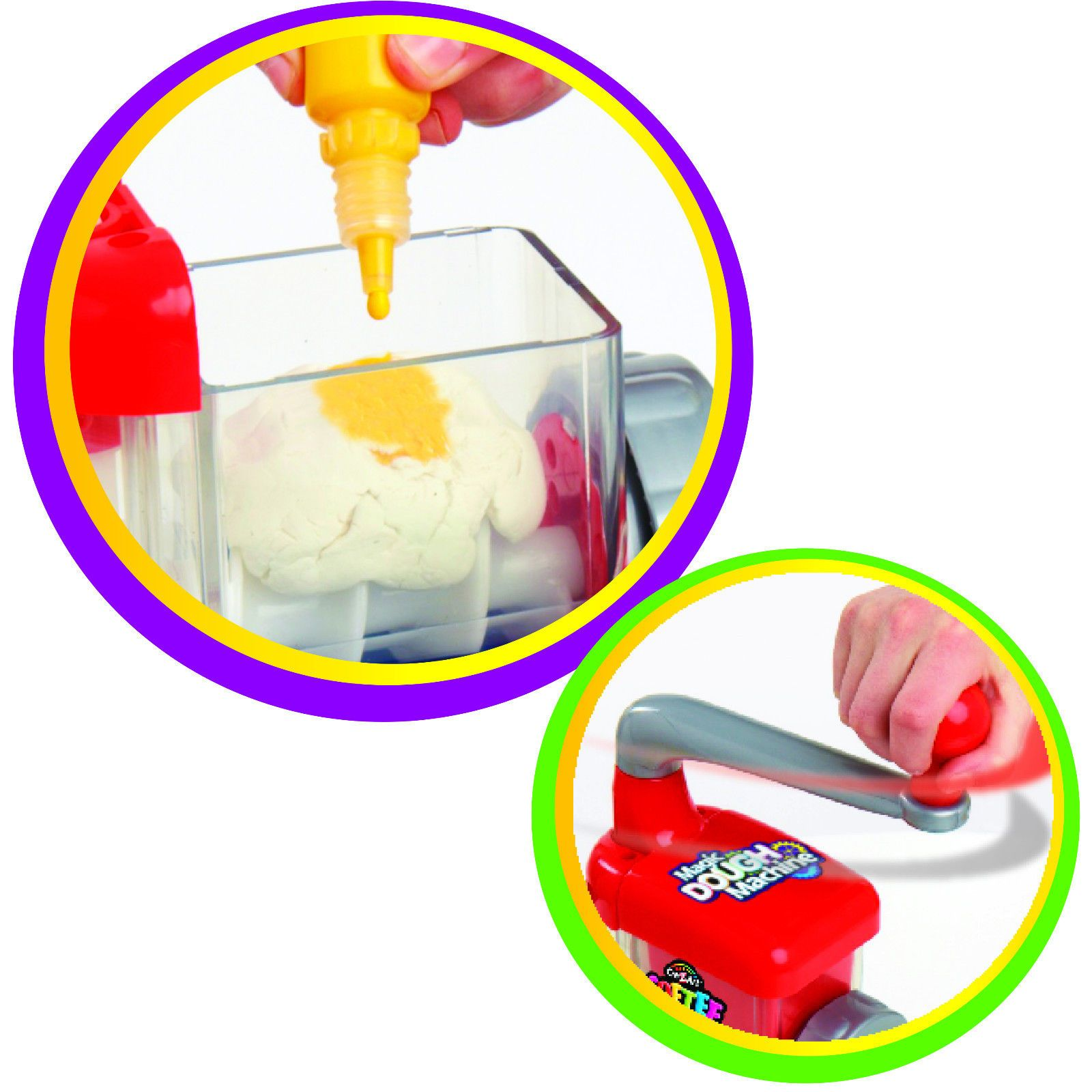 crazart magic dough machine